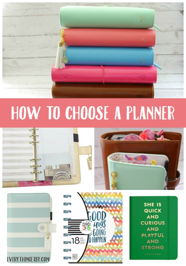 How to Choose a Planner on EverythingEtsy