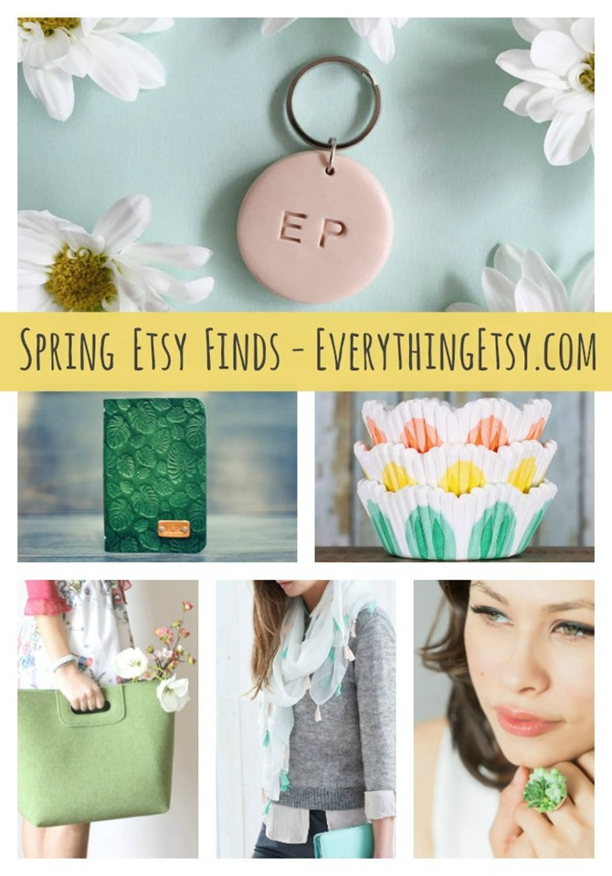 Etsy Spring Favorites on EverythingEtsy.com