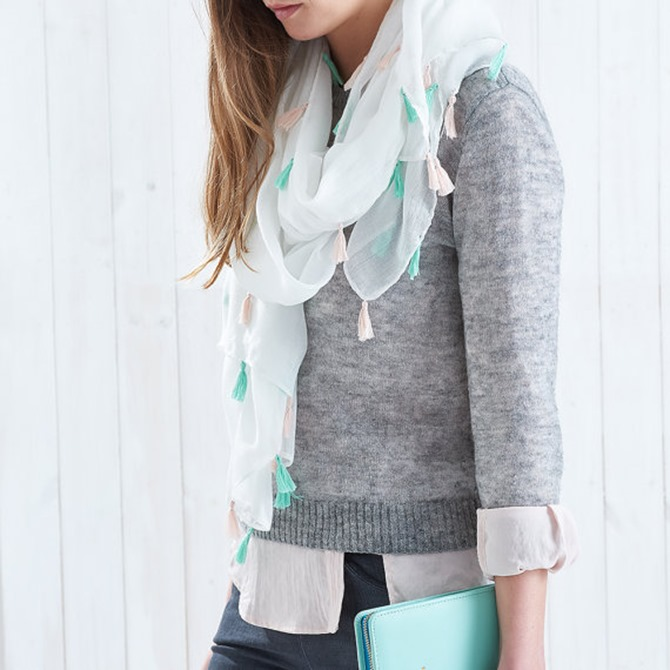 Etsy Spring Finds - Pastel Scarf