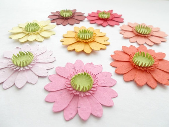 Etsy Spring Finds - Plantable Paper Flowers