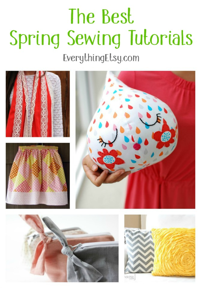 The Best Spring Sewing Tutorials on EverythingEtsy.com