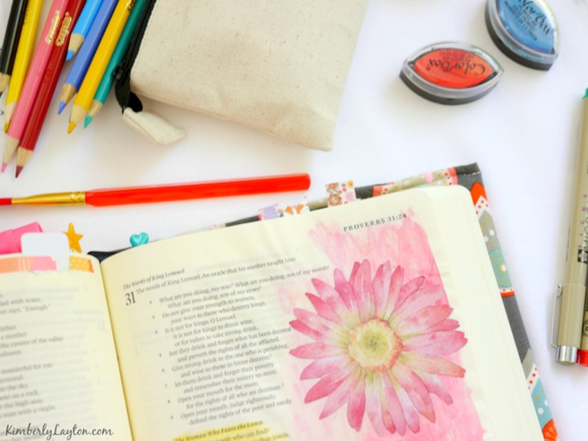 Bible Journaling - KimberlyLayton