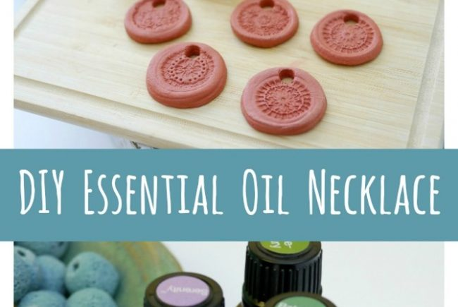 DIY Essential Oil Necklace–Aromatherapy