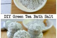 DIY Green Tea Bath Salt–{DIY Gifts}