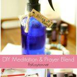 DIY Meditation & Prayer Essential Oil Blend