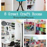 8 Craft Rooms–Creative Inspiration