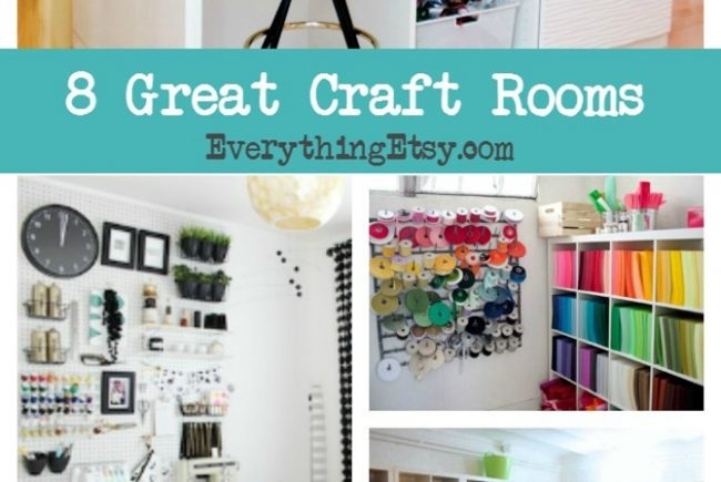 8 Craft Rooms–Creative Inspiration