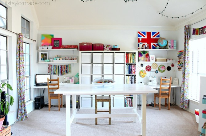 Craft Room Inspiration - Taylor Made Creates
