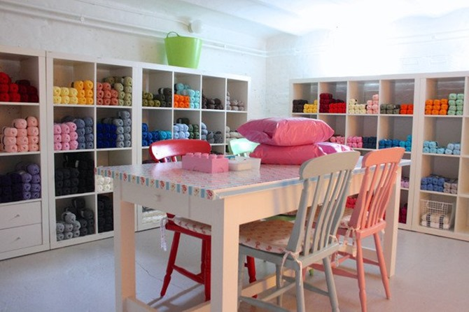 Craft Room Inspiration - yarn love