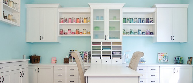 Craft Room - Super Organized