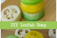 Loofah Sponge Soap Tutorial–DIY Gift Idea
