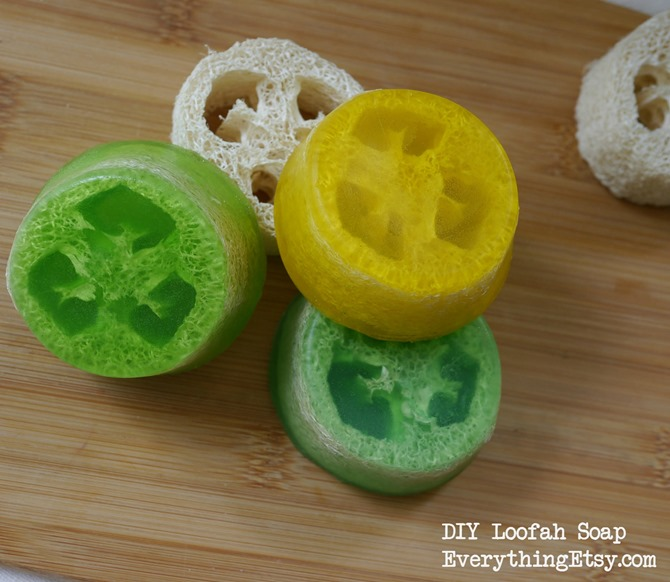 DIY Loofah Soap - Tutorial on EverythingEtsy.com