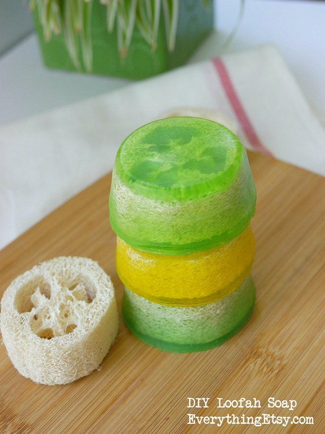 DIY Loofah Soap on EverythingEtsy.com