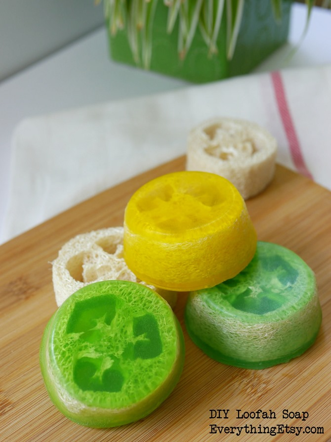 DIY Loofah Sponge - Gift Idea on EverythingEtsy.com