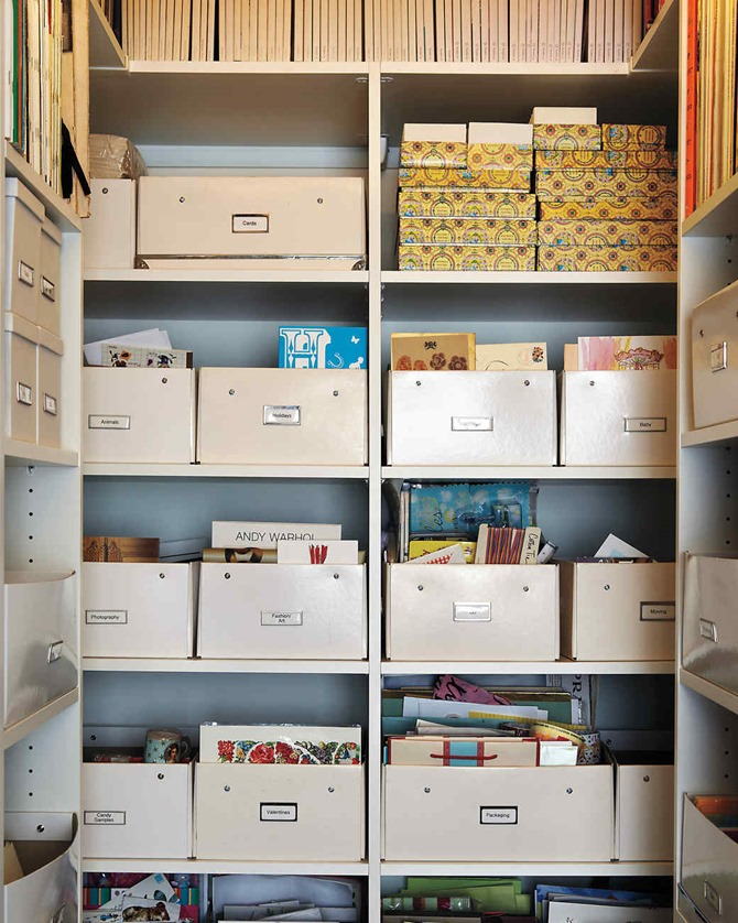 craft room inspiration - darcy miller via martha stewart