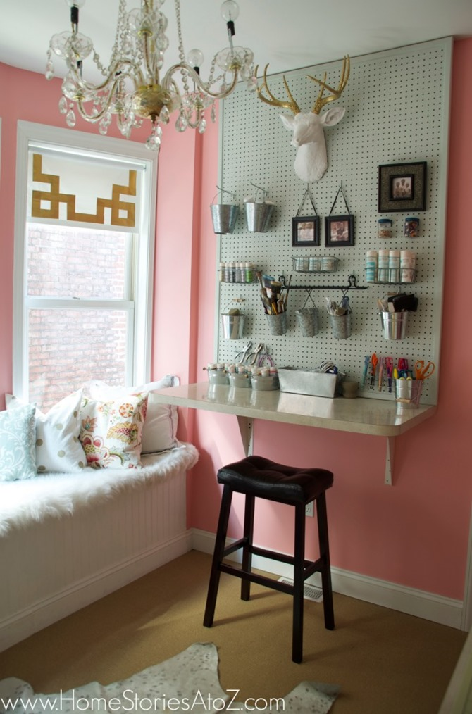 craft room inspiration - home stories a to z