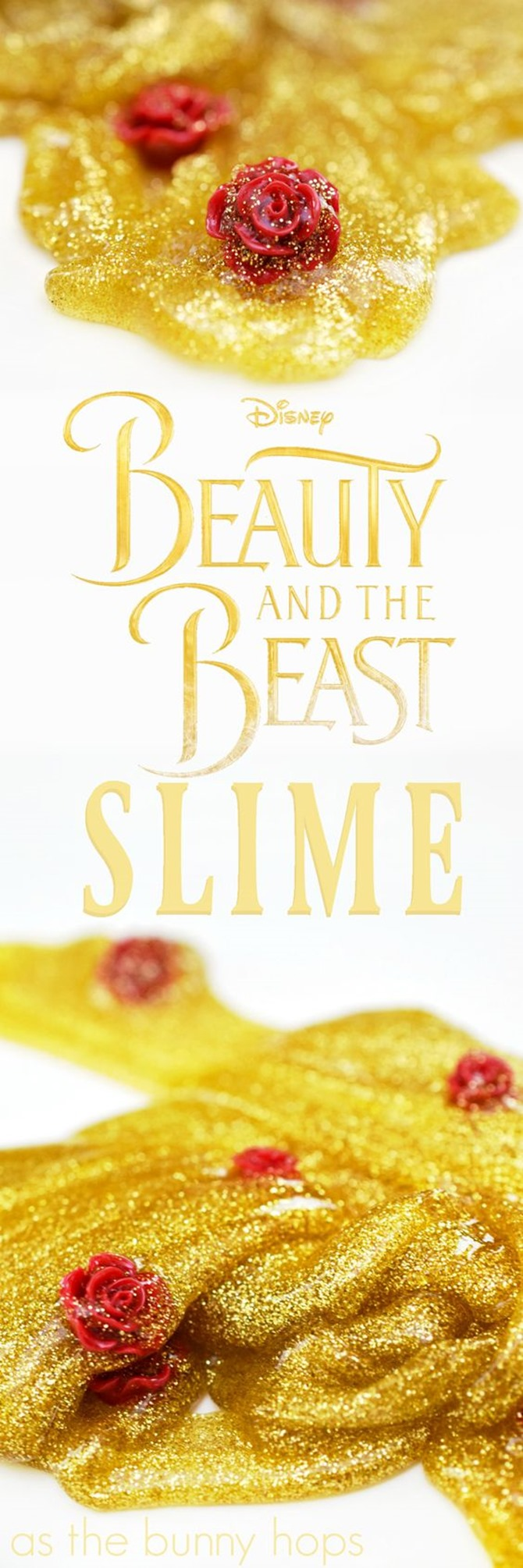 12 DIY Slime Recipes - Beauty and the Beast - Super Cute