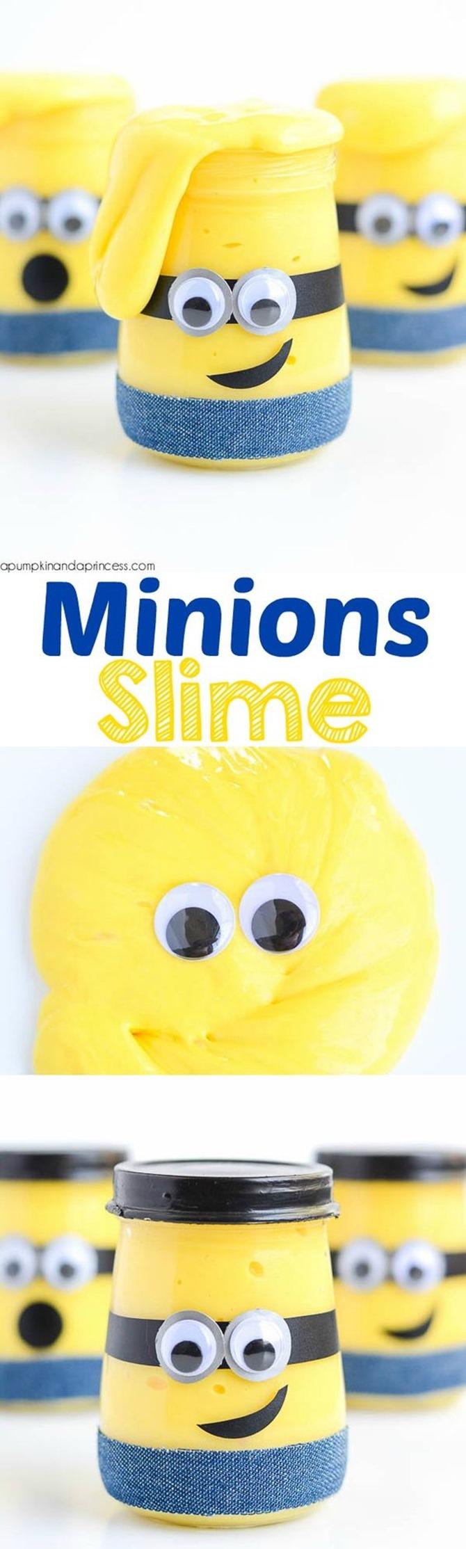 12 DIY Slime Recipes - Minions