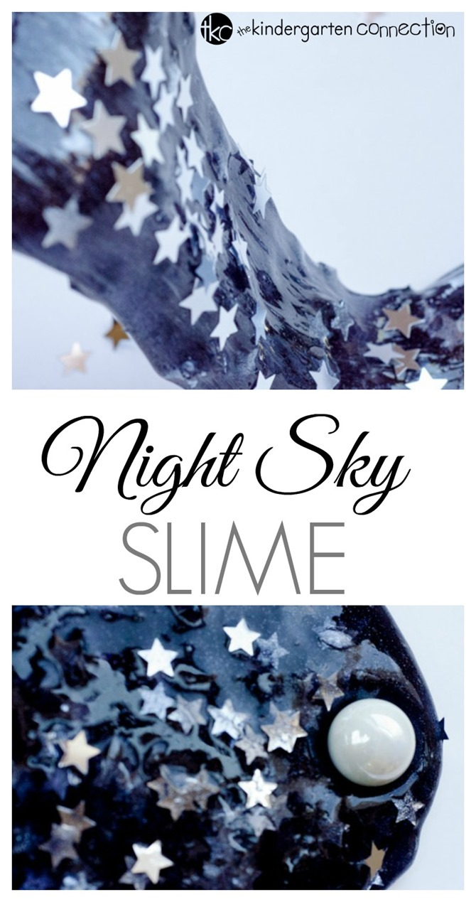 12 DIY Slime Recipes - Night Sky