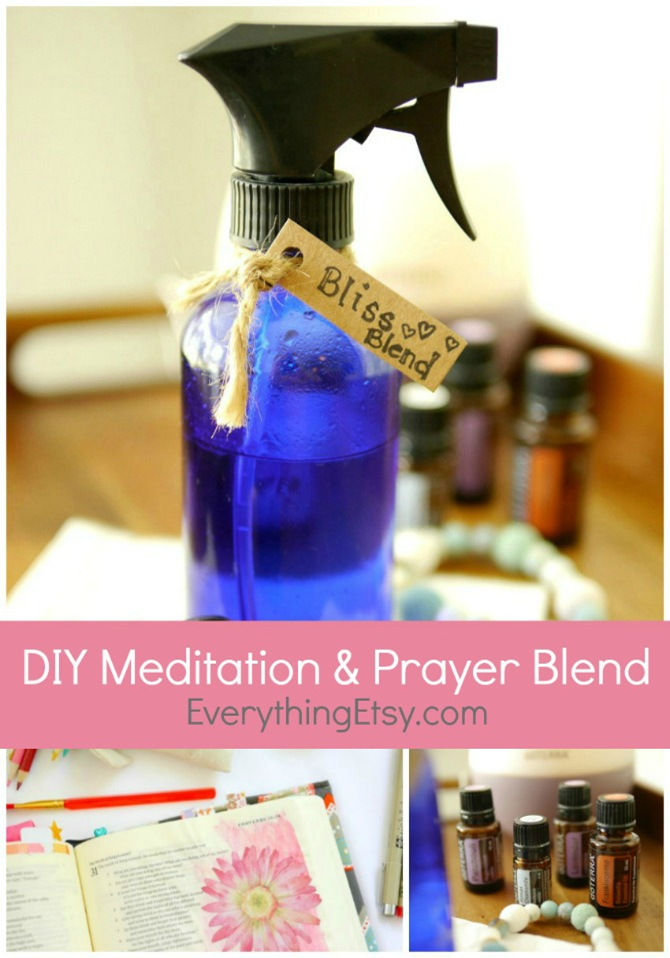 DIY Meditation & Prayer doTERRA Essential Oil Blend - Tutorial on EverythingEtsy