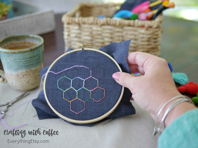 Crafting with Coffee - Foldgers Simply Gourmet - EverythingEtsy.com