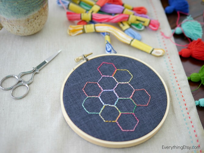 Embroidery Break on EverythingEtsy.com