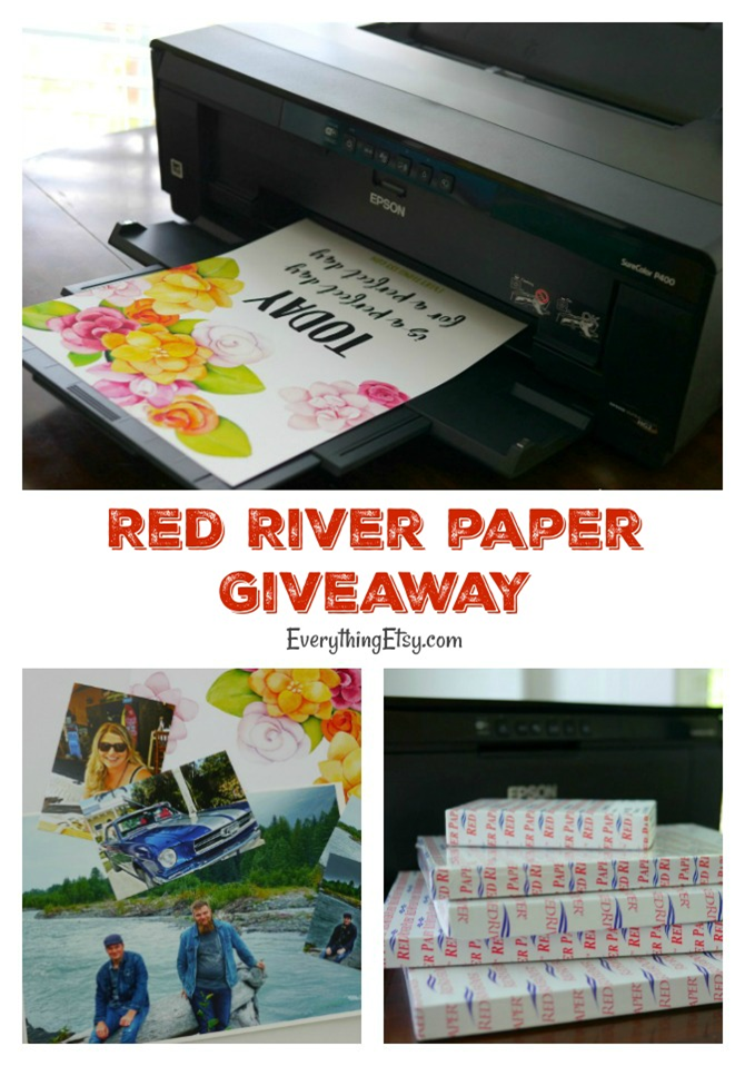 Red River Paper Giveaway on EverythingEtsy