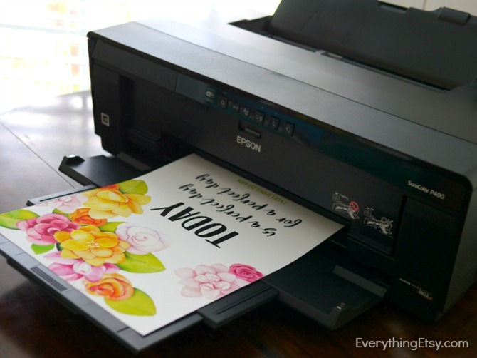 Red River Paper Printer Giveaway - Printing - EverythingEtsy.com