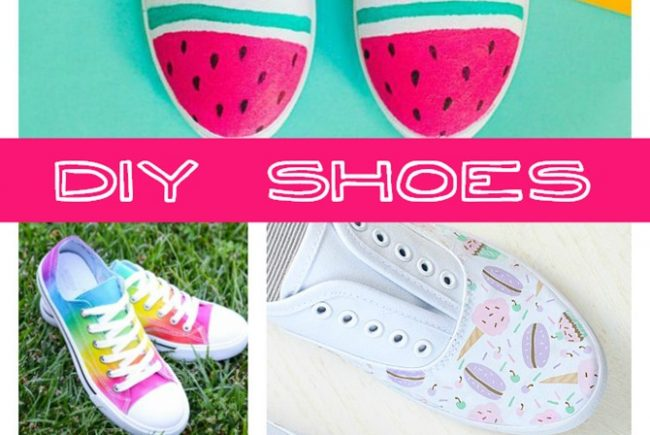 Easy DIY Tennis Shoes for Summer {Take 5}