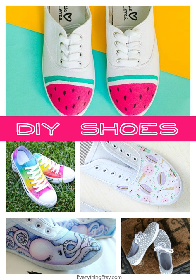 DIY Shoes for Summer - Take 5 on EverythingEtsy.com