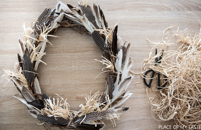 21 Fall Wreath Idea - Boho Feathers - EverythingEtsy