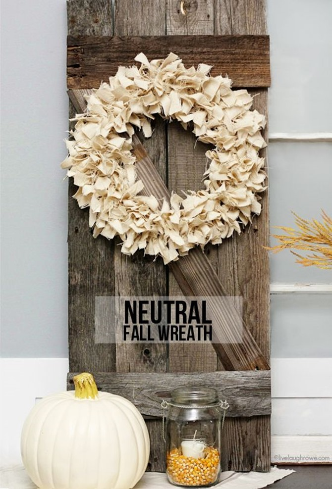 21 Fall Wreath Ideas - Simple Fall - Live Laugh Roe