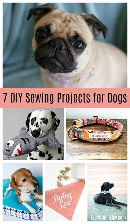 7 DIY Sewing Projects for Dogs - EverythingEtsy.com