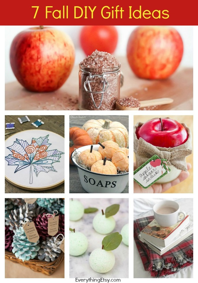 7 Fall DIY Gift Ideas - Great Hostess or Teacher Gifts - EverythingEtsy.com