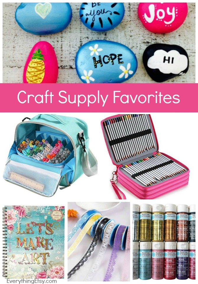 Craft Supply Favorites - Crafty Awesomeness!  EverythingEtsy.com