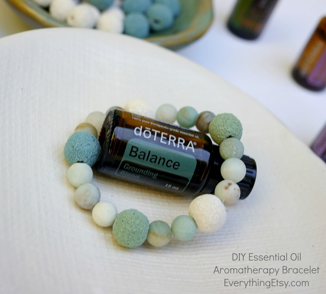 DIY Essential Oil Aromatherapy Bracelet - doTERRA - EverythingEtsy.com