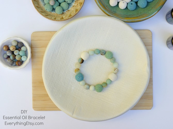 DIY doTERRA Essential Oil Diffuser Bracelet - EverythingEtsy.com