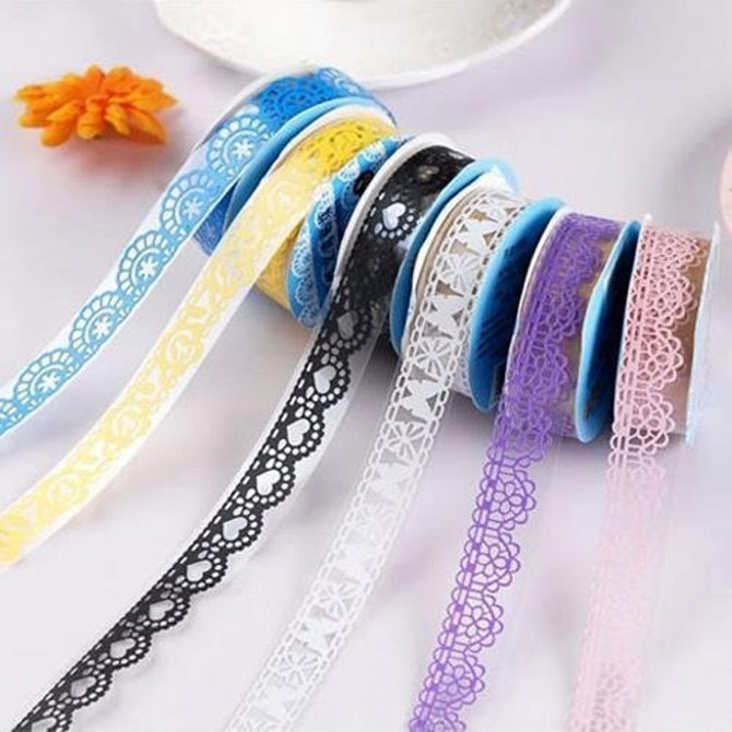 Pretty Lace Washi Tape