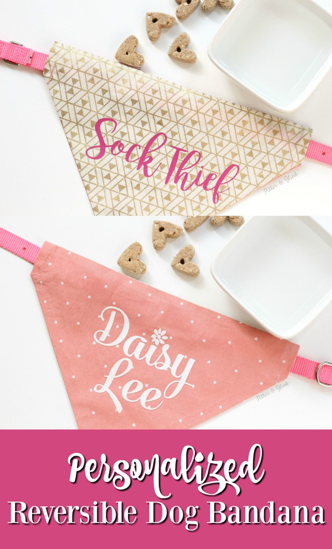 Reversible Dog Bandana DIY Sewing Idea