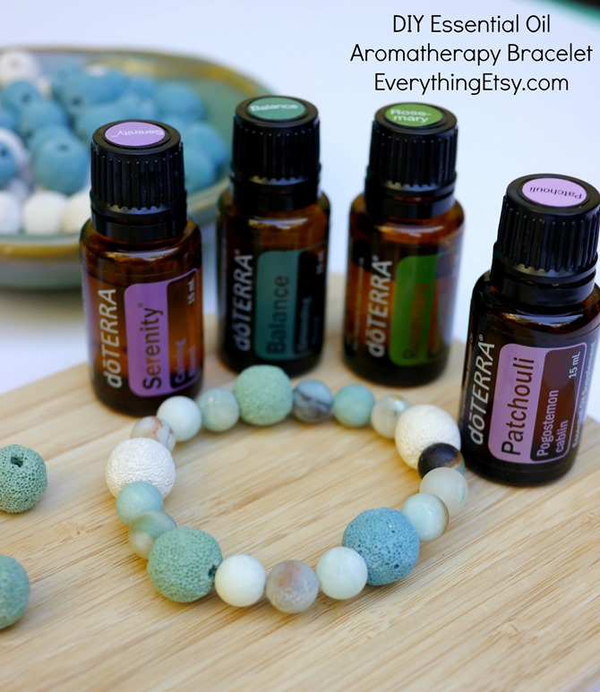 doTERRA Essential Oil DIY Aromatherapy Bracelet - EverythingEtsy.com