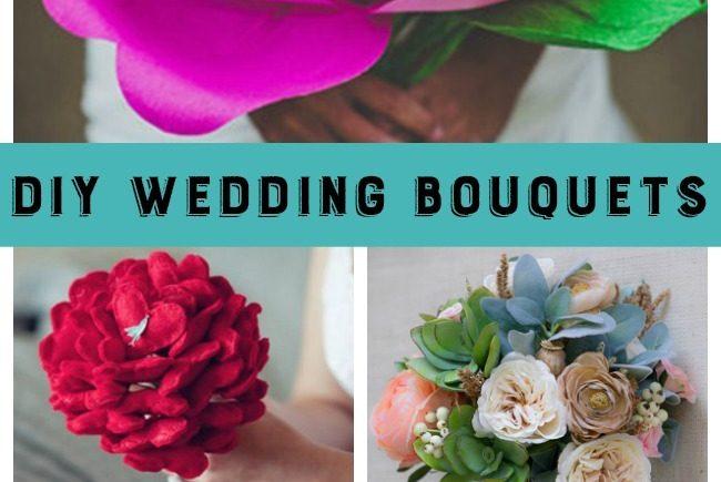 DIY Wedding Bouquets–10 Beautiful Tutorials!