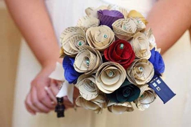 DIY Wedding Bouquets - Love Notes