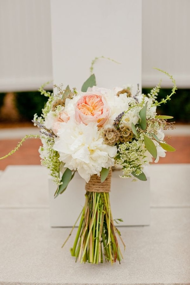 DIY Wedding Bouquets - Rustic Flowers