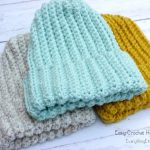 Easy Crochet Hat–Free Pattern