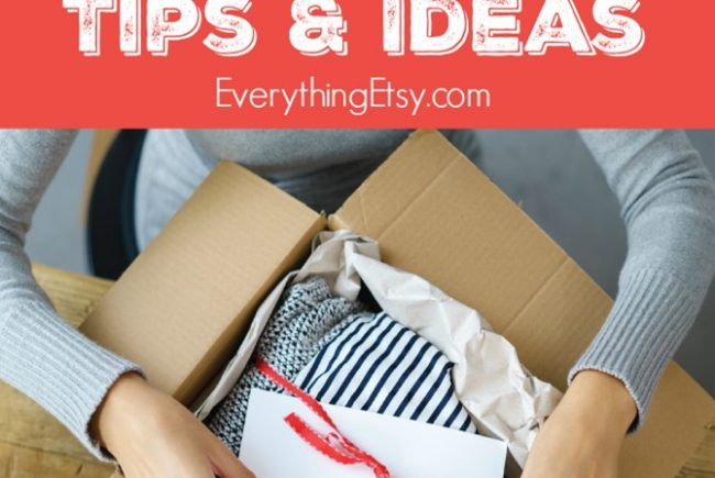 12 Etsy Shipping Station Tips & Ideas {Etsy Business}