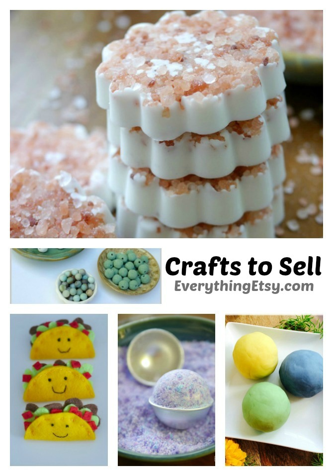 5 Awesome Crafts to Sell - All the details and resources on EverythingEtsy.com