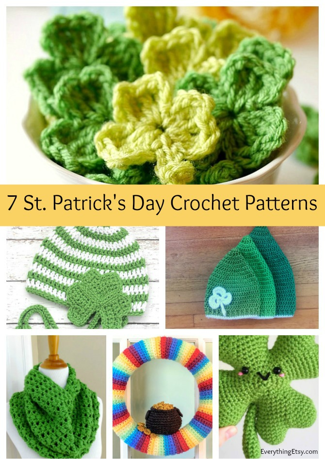 7 St. Patrick's Day Crochet Patterns - Free Designs on EverythingEtsy.com