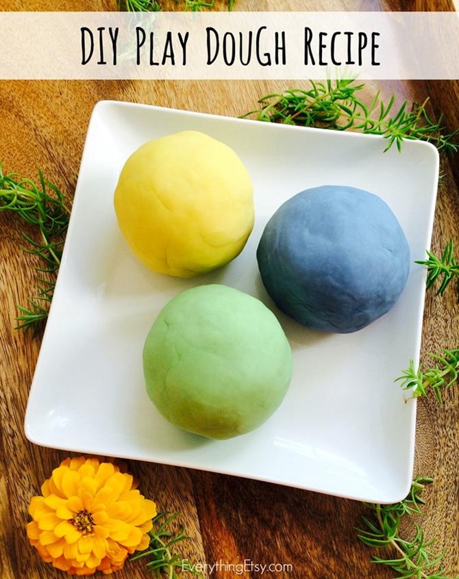 DIY Play Dough Recipe with doTERRA Essential Oils - EverythingEtsy
