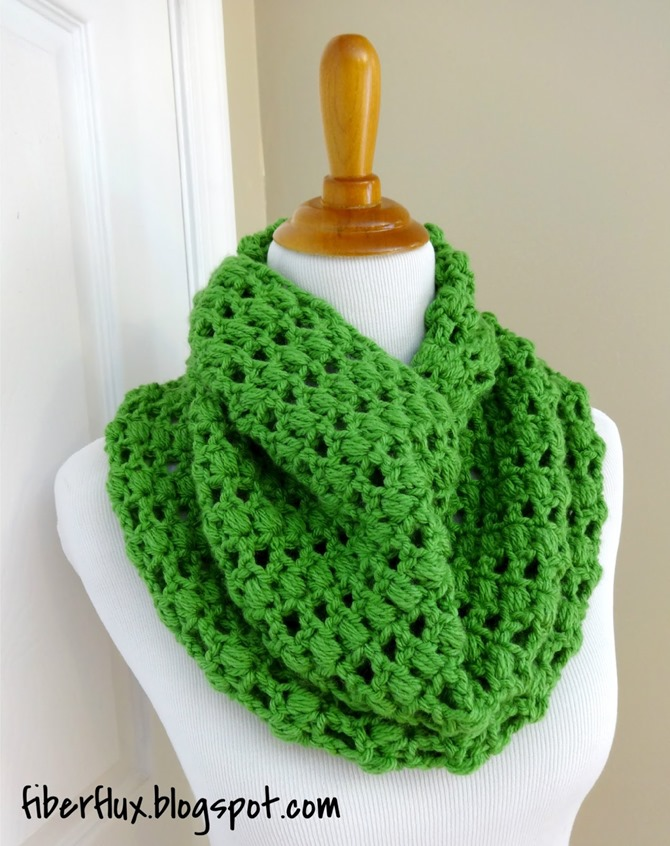 St. Patrick's Day Free Crochet Patterns - Scarf