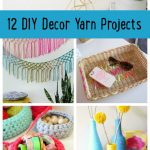 12 DIY Decor Yarn Projects